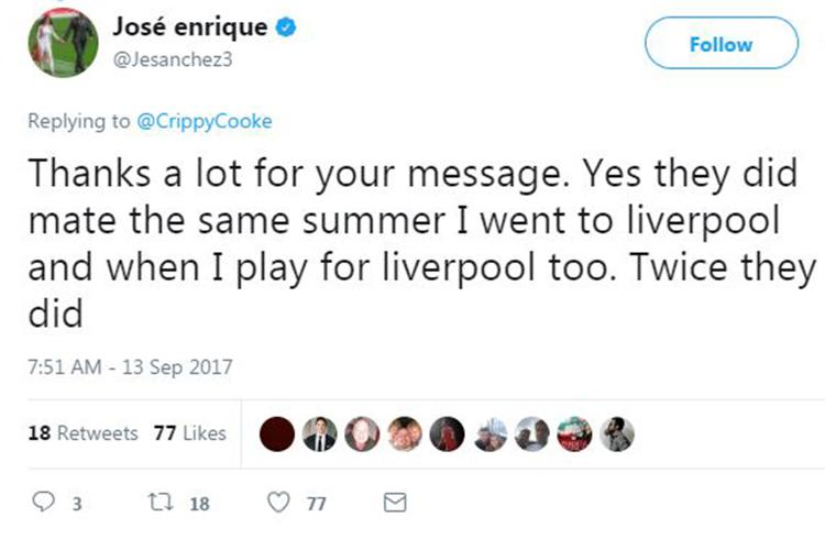 Straight from the Jose's mouth