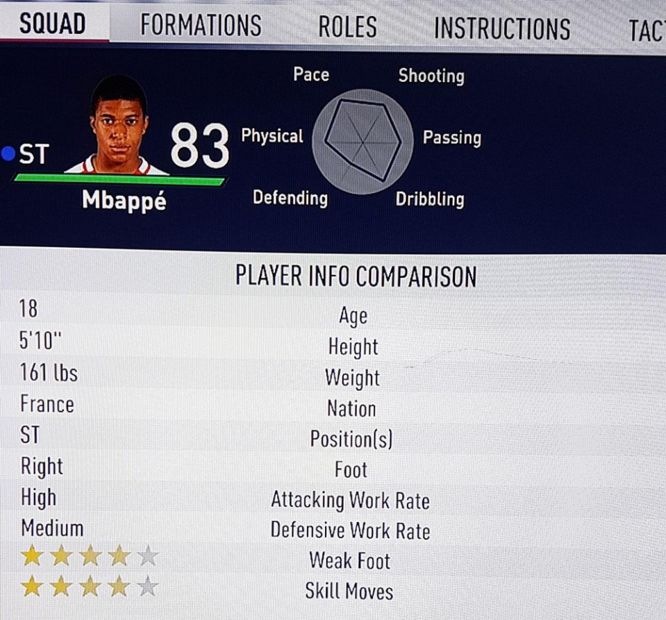 Fifa 18 Kylian Mbappe S New Rating Makes Him A Must Have