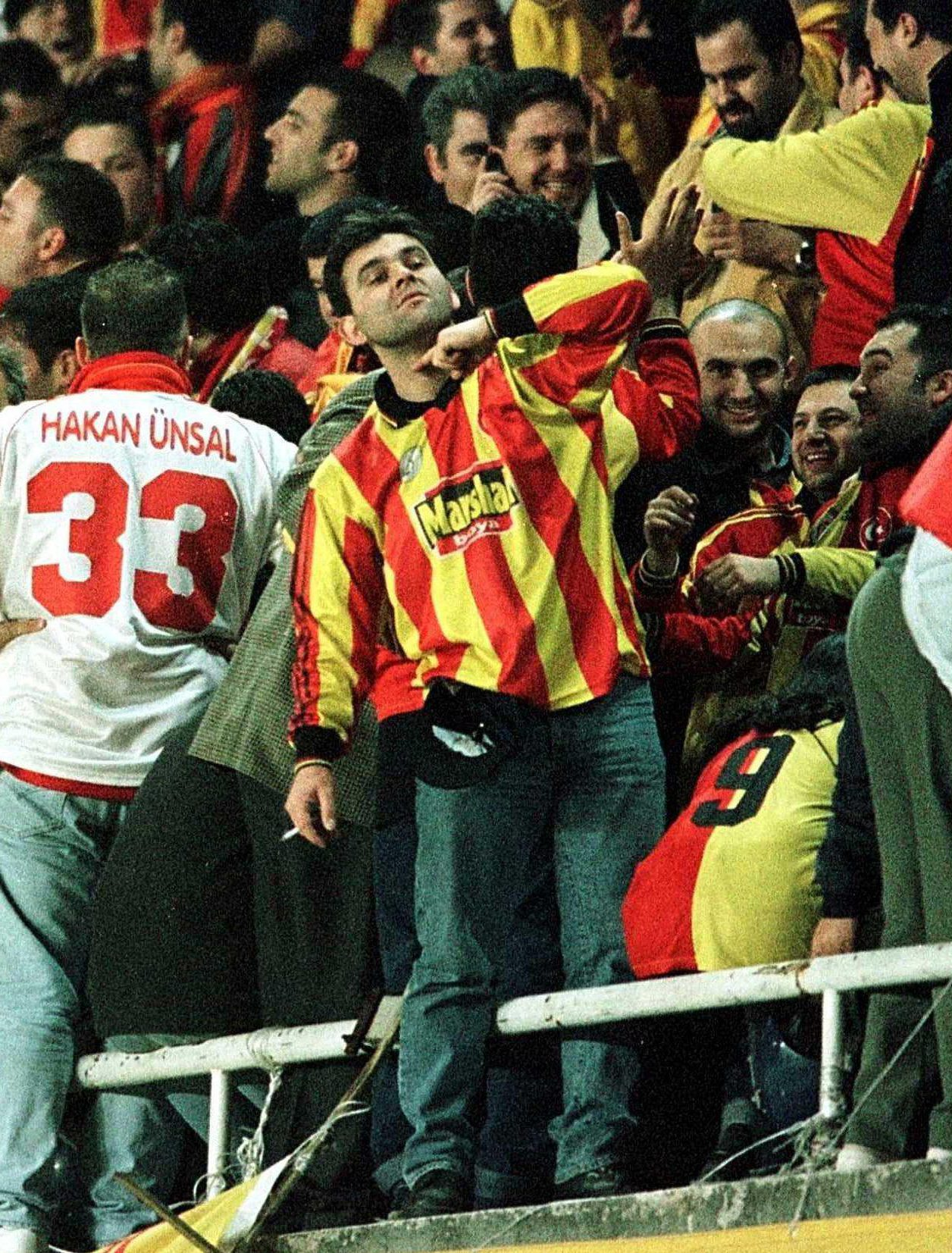 Hostilities between Galatasaray and English teams reached an all-time high