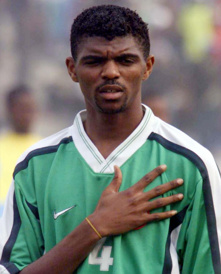 If he's half as good as Kanu…
