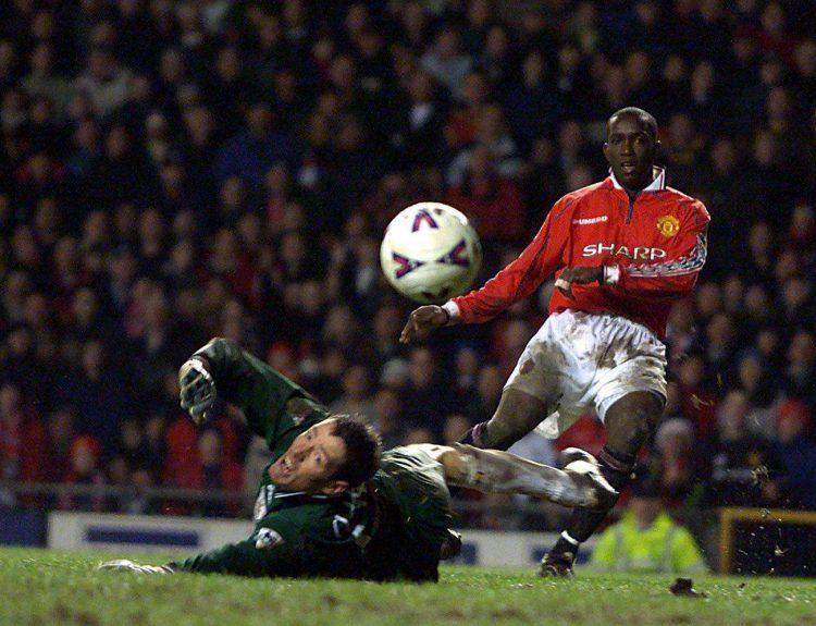 A very familiar sight across the 1998/99 season