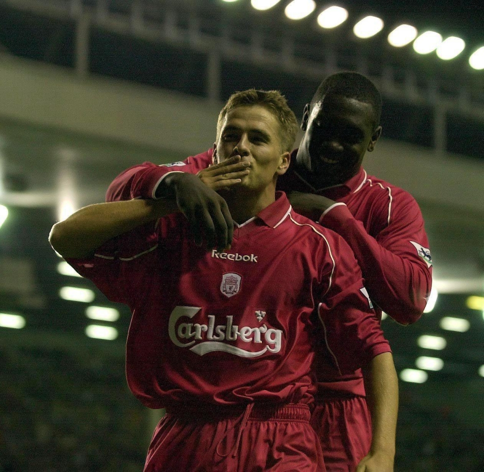 Michael Owen is the youngest player to ever reach 90 Premier League goals