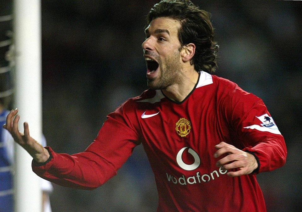 Van Nistelrooy hit 150 goals in just 219 games for United