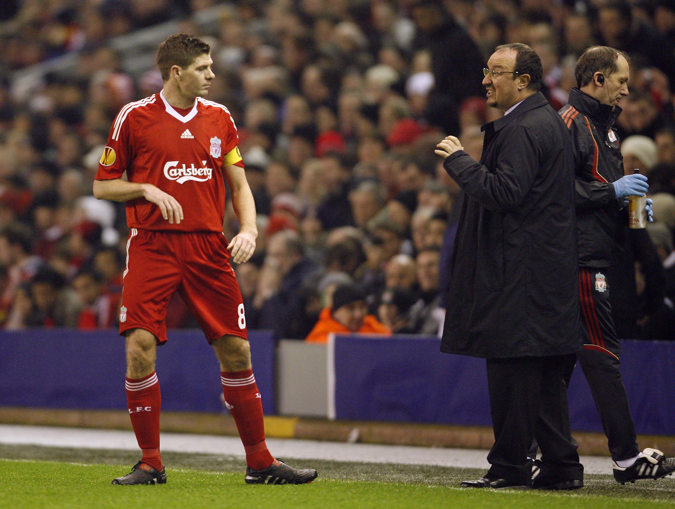 Gerrard advised Rafa against signing the then-Villa midfielder