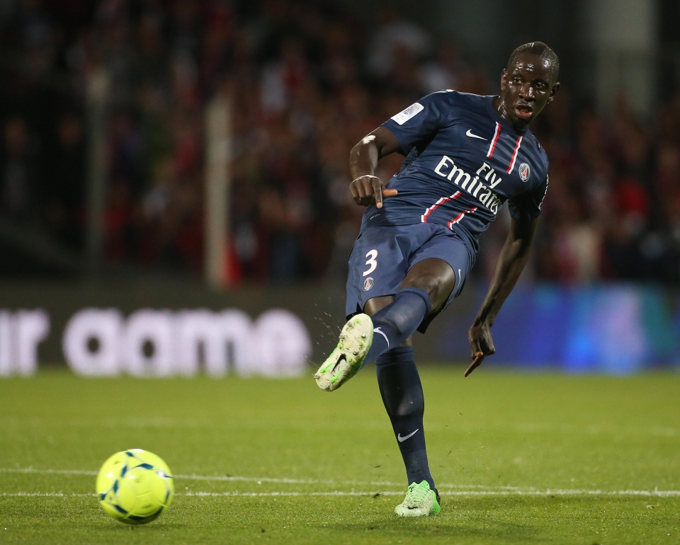 Sakho went onto become PSG's youngest ever captain