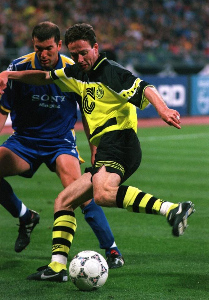 Lambert's role in the final was to keep Zidane quiet