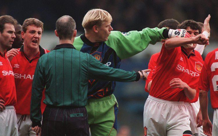 Roy Keane was in a typically festive mood