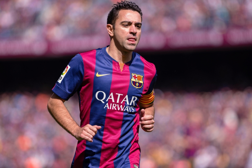 The Dutch youngster is named after Barca legend Xavi Hernandez