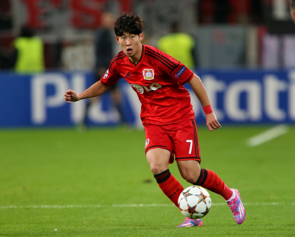 Son was Dortmund's thorn in the side when he played for Bayer Leverkusen
