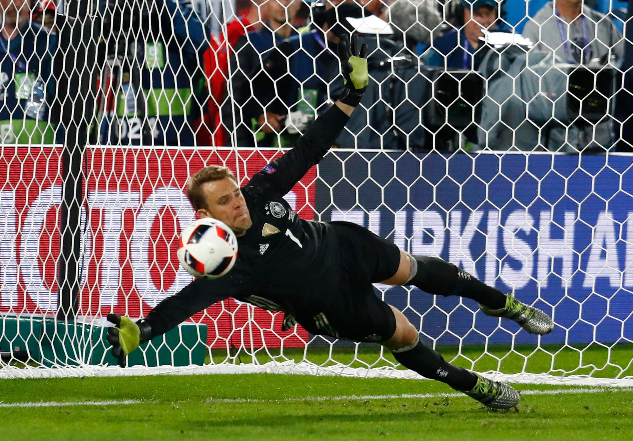 Germany No 1 Manuel Neuer is considered by most as best goalkeeper on planet