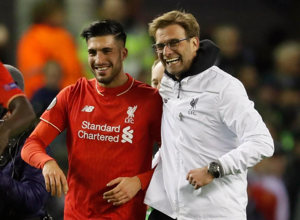 The working relationship Emre Can has with boss Jurgen Klopp could be set for a split