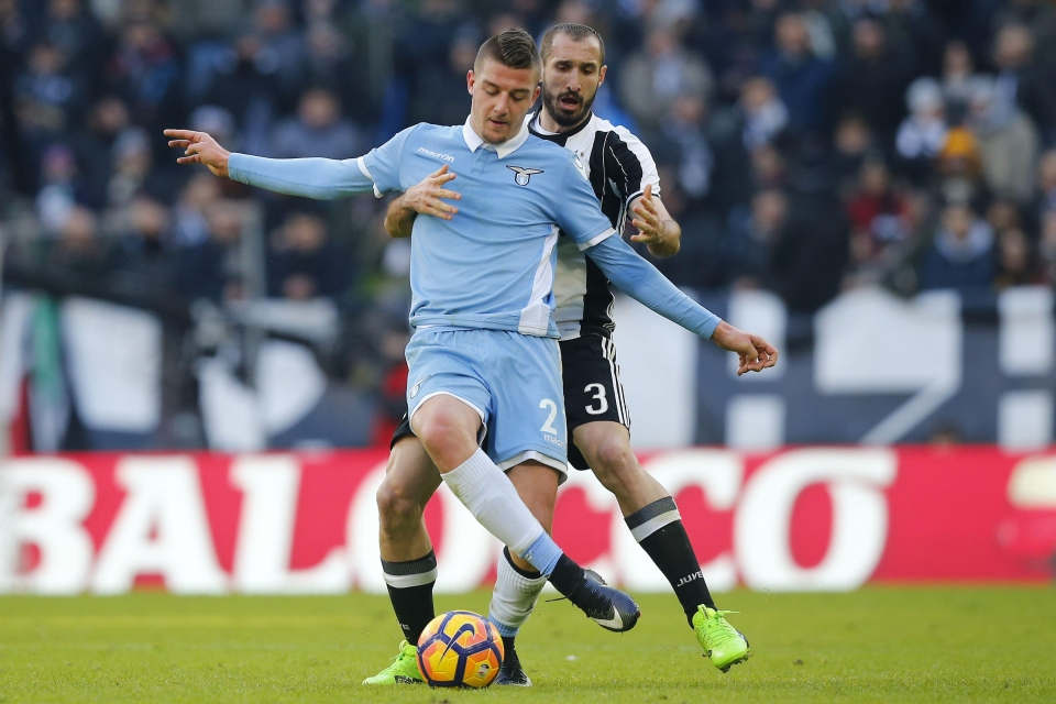 The Lazio star is a wanted man