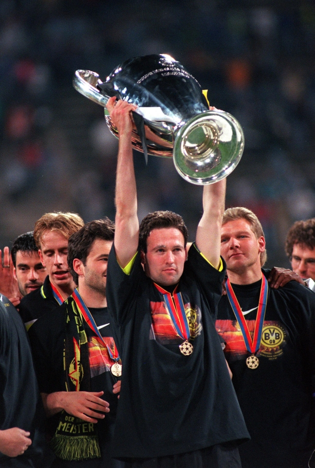Lambert became first British player to win Europe's top prize with a foreign club