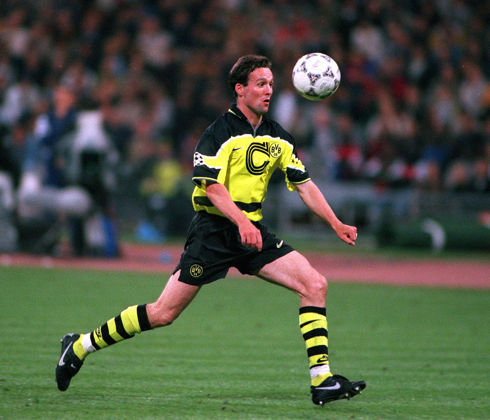 Lambert was converted to a defensive-midfielder at Dortmund