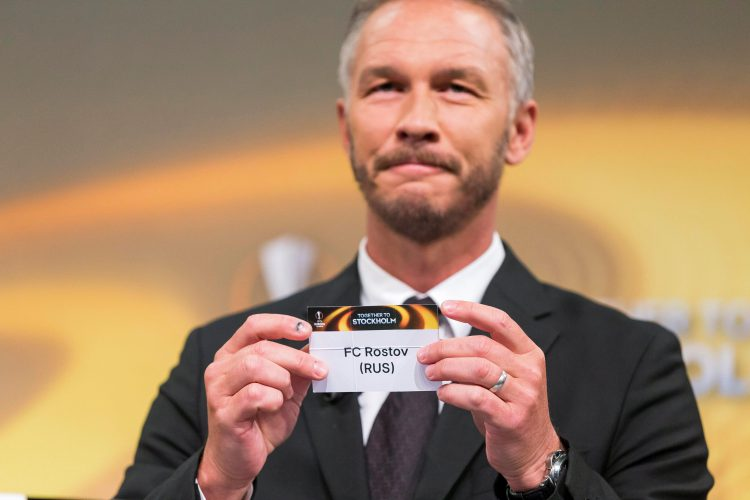 Andersson is now wheeled out every Europa League draw