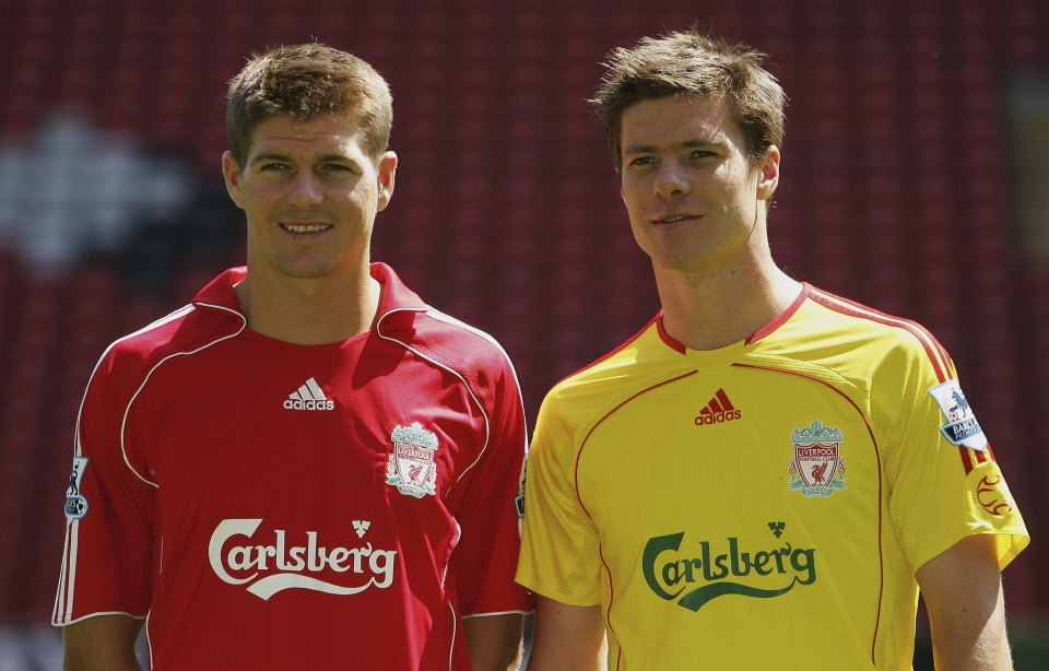 Alonso left Anfield for Real Madrid and also played for Bayern Munich before retiring last season