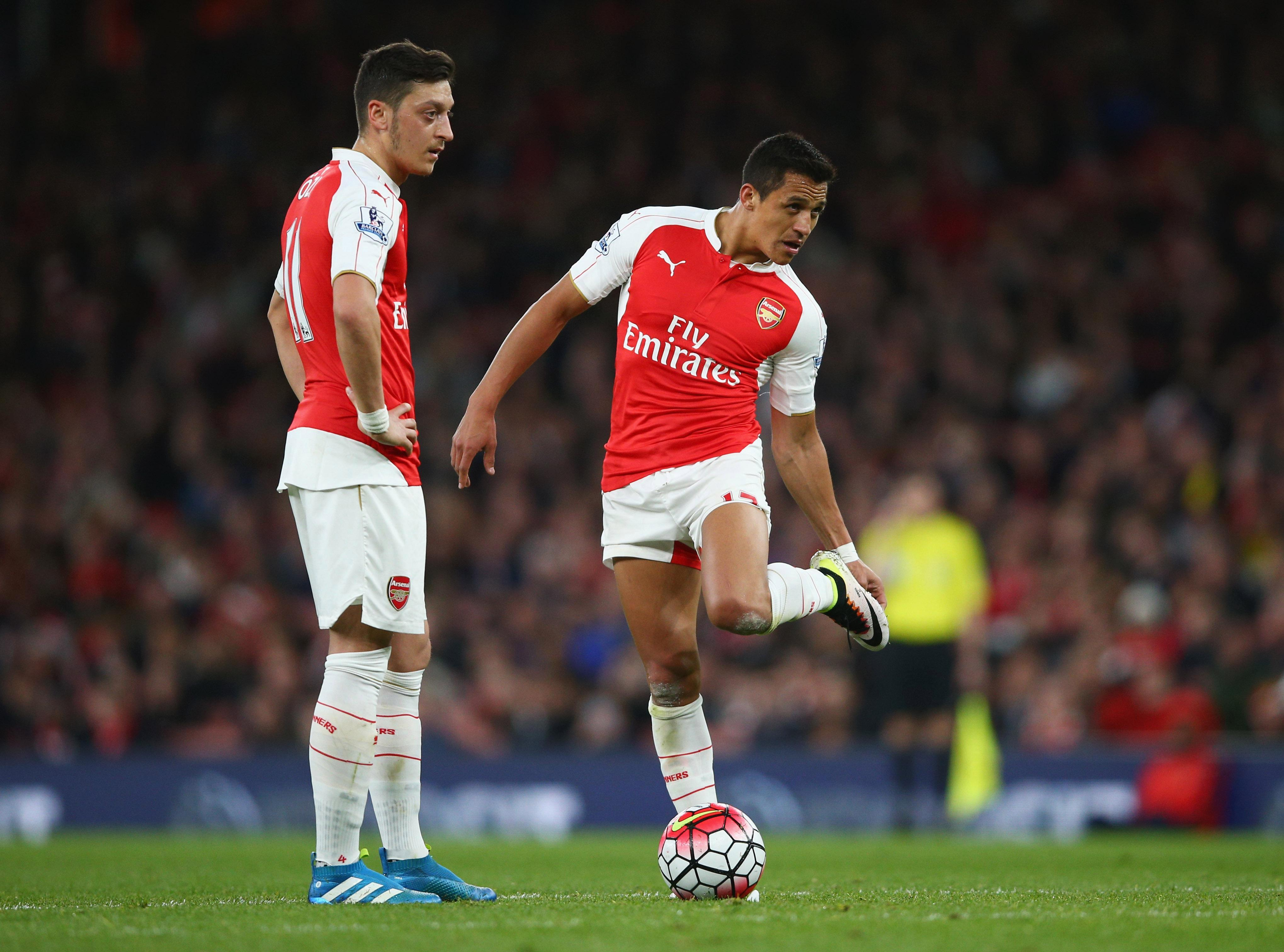 Arsenal are giving fans a glimpse of the future without contract rebels Alexis Sanchez and Mesut Ozil