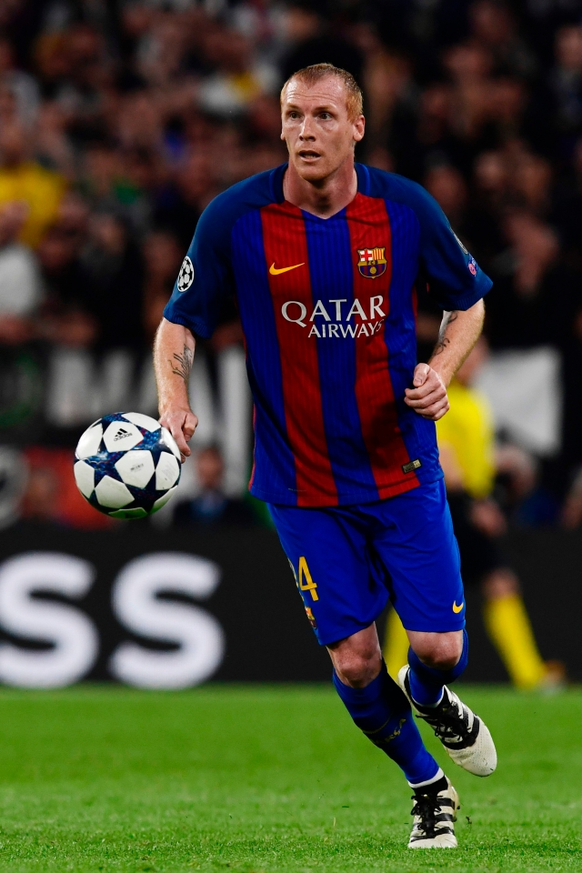 Sales of Mathieu shirts were rather low in Barcelona