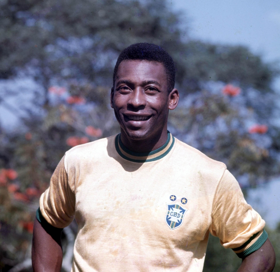 Pele fired Brazil to three World Cup wins during his playing days