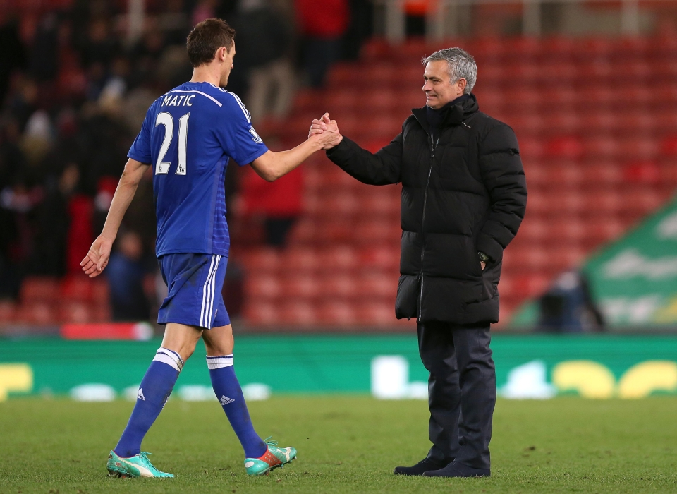 Matic and Mourinho go way back
