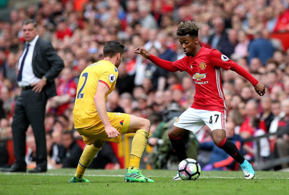 Gomes is considered one of the most eye-catching youngsters United have produced since Paul Pogba