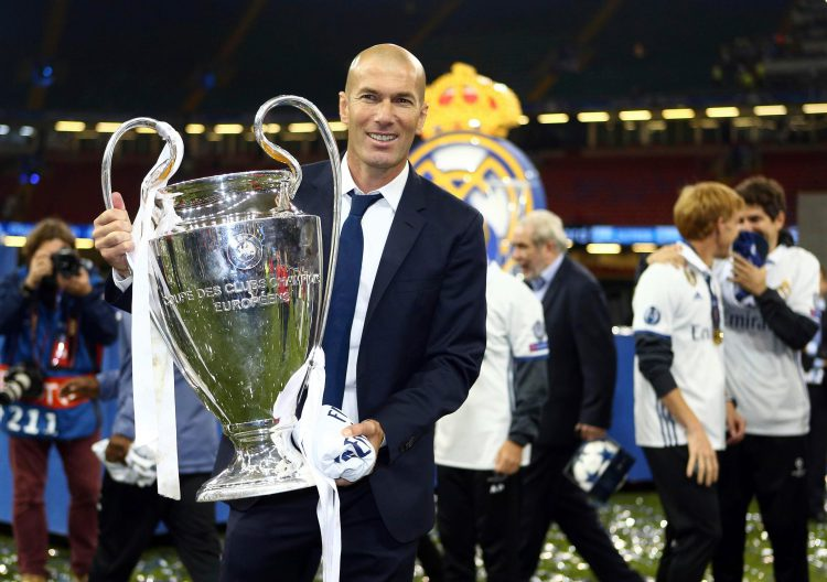 Ol' big ears and the Champions League trophy