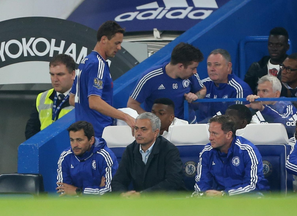 Mourinho substituted Matic despite bringing him on at half time