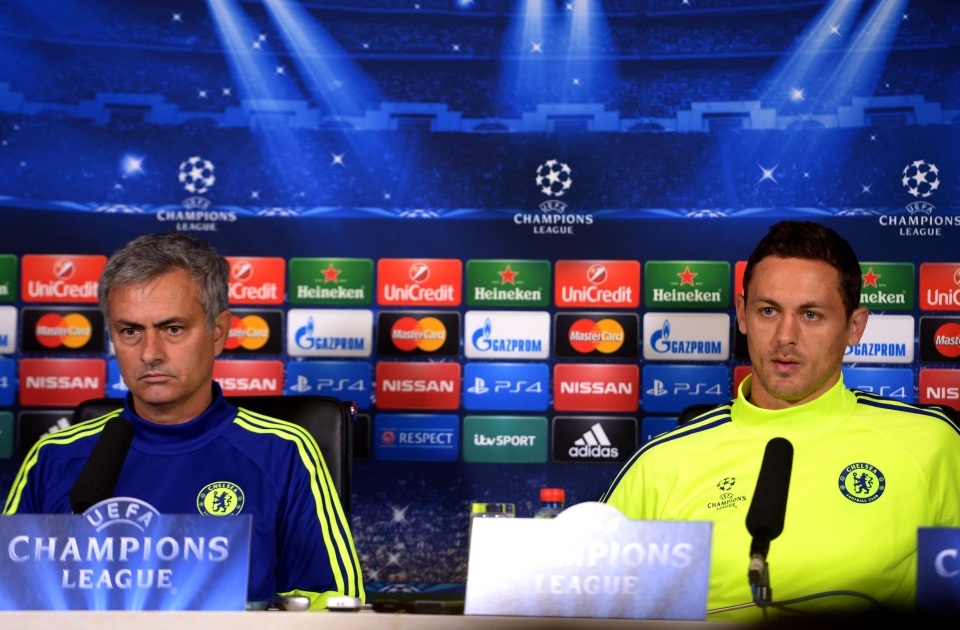 Mourinho and Matic are back in the Champions League together this season at United