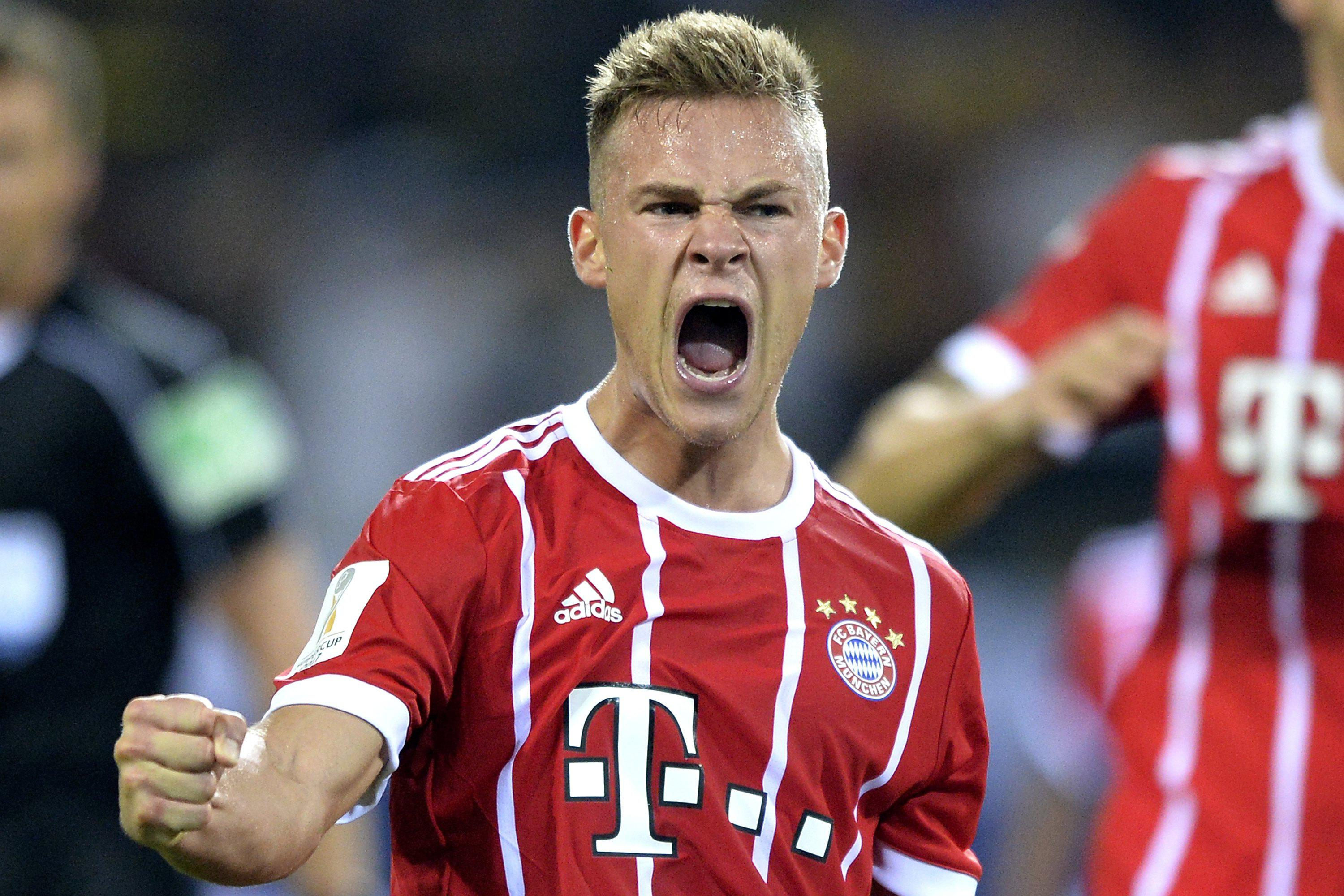 Kimmich has become a key figure for both Bayern and Germany
