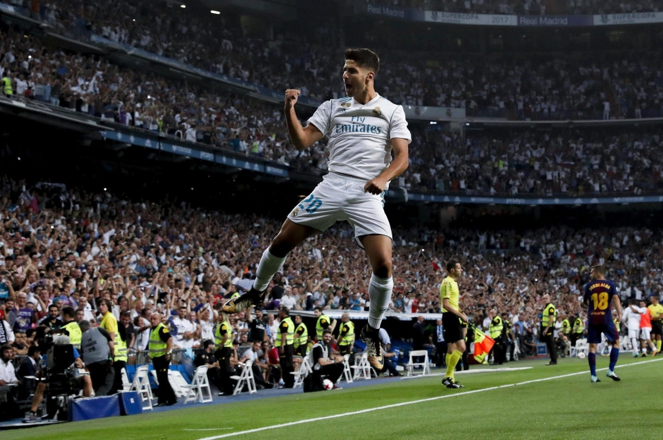 Marco Asensio was the Real Madrid hero during incredible Super Cup win