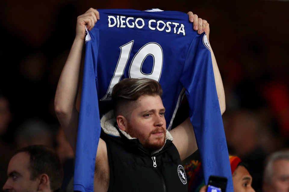 Chelsea fans will miss the massive b******
