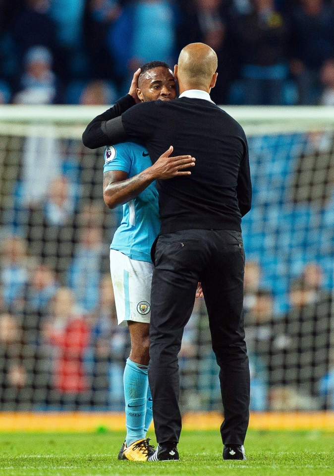Guardiola says he trusts Sterling's potential