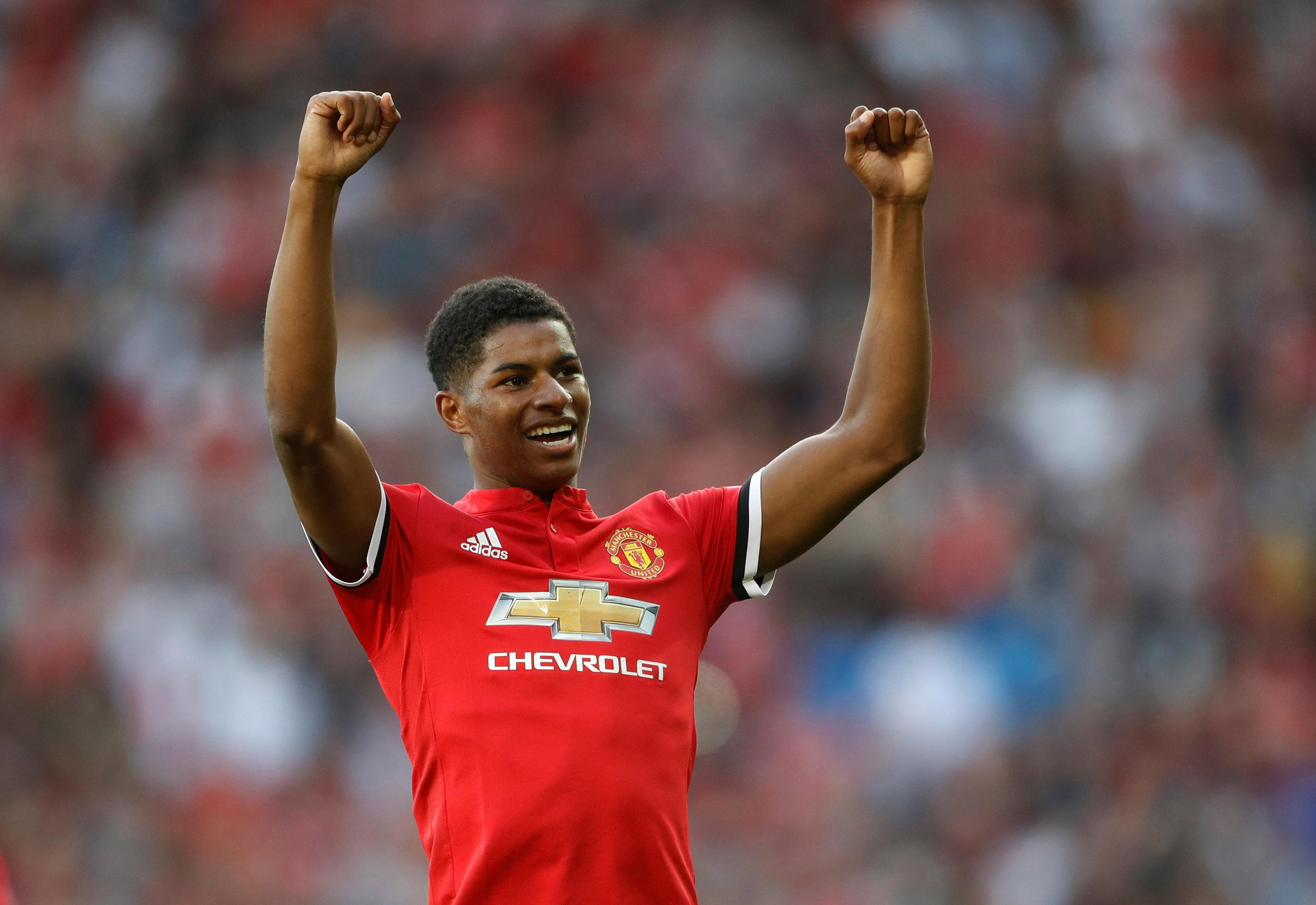 Marcus Rashford has been a key home-grown cog for Man United since his emergence