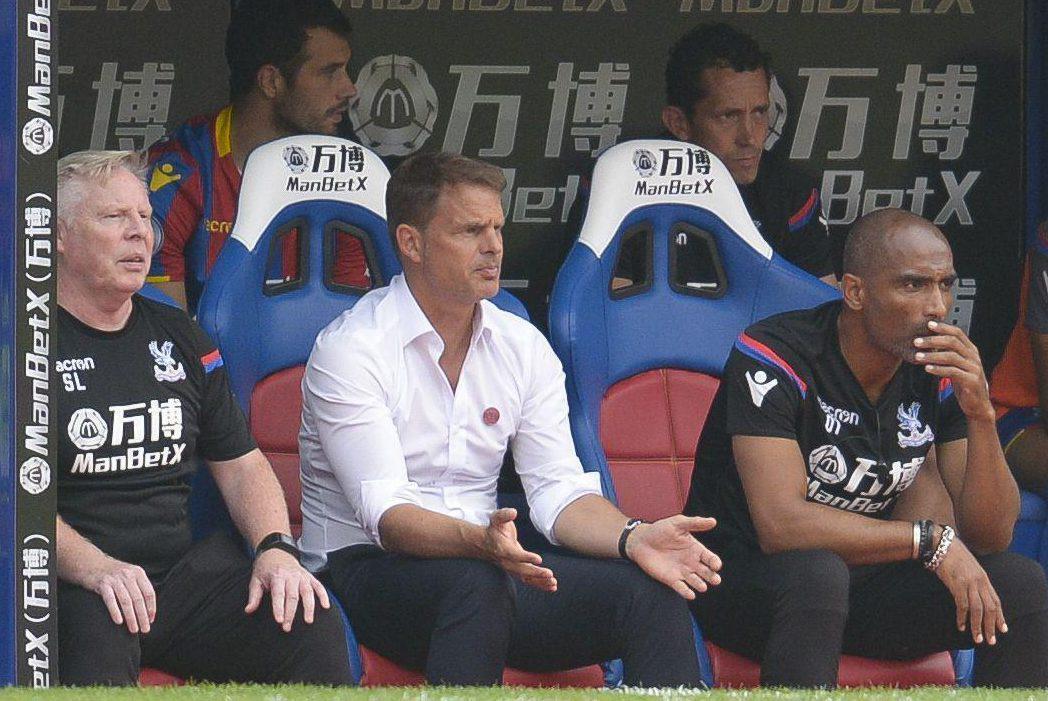 De Boer has lost his opening three Premier League matche