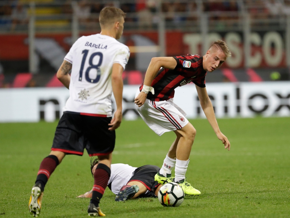 Conti had a fine start to life at Milan