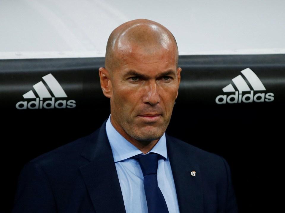 Zinedine Zidane is a big fan of Hazard