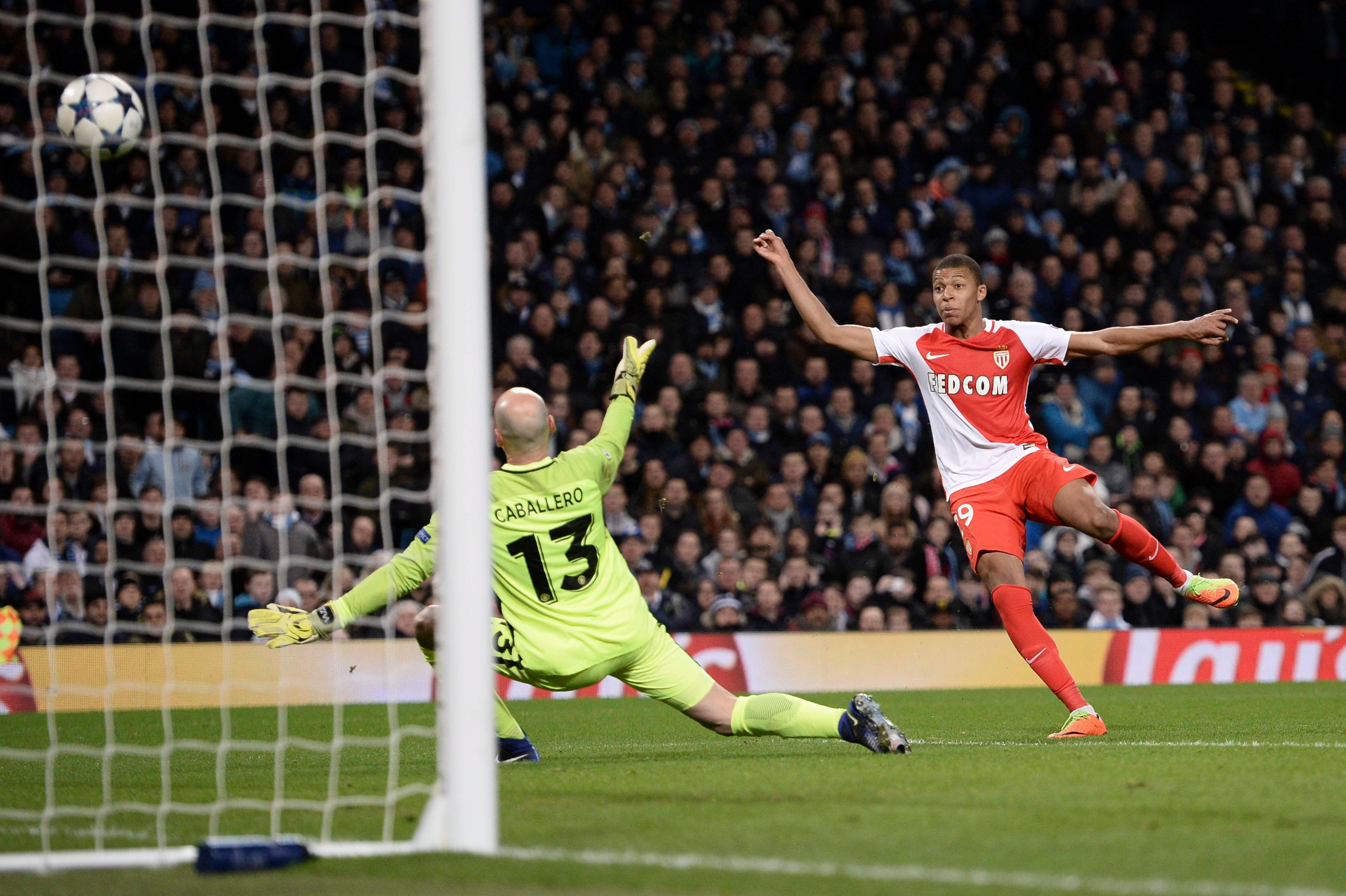 Kylian Mbappe starred in the Champions League as he helped his side reach the semi-finals stages