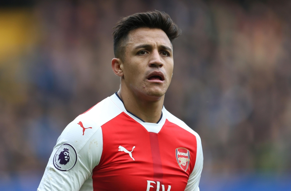 Sanchez looked certain to leave Arsenal over the summer