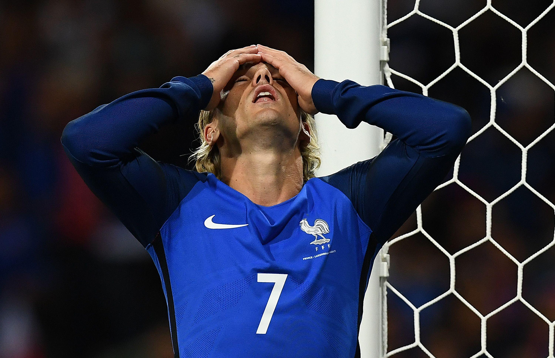 Antoine Griezmann couldn't break Luxembourg down