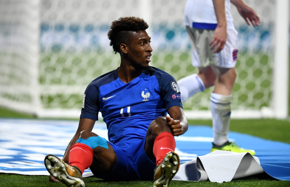 Kingsley Coman was another French star to flop
