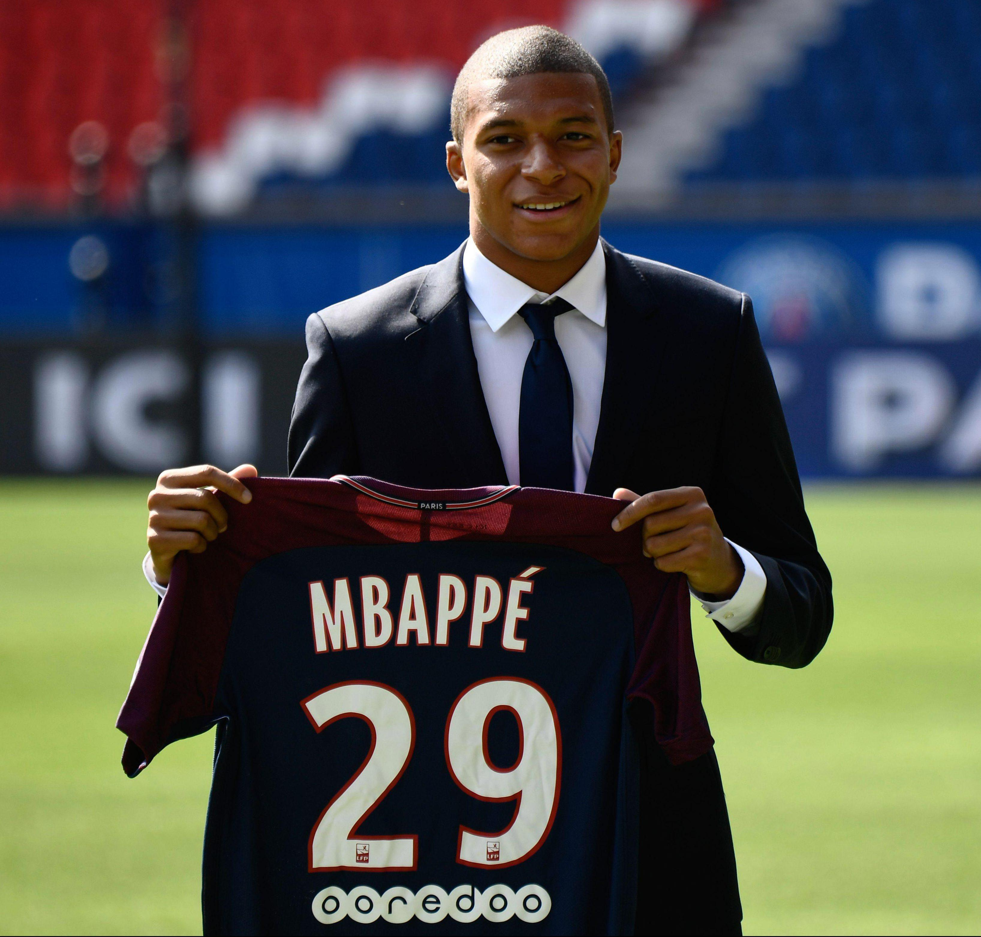 Kylian Mbappe will set PSG back another £166m next summer