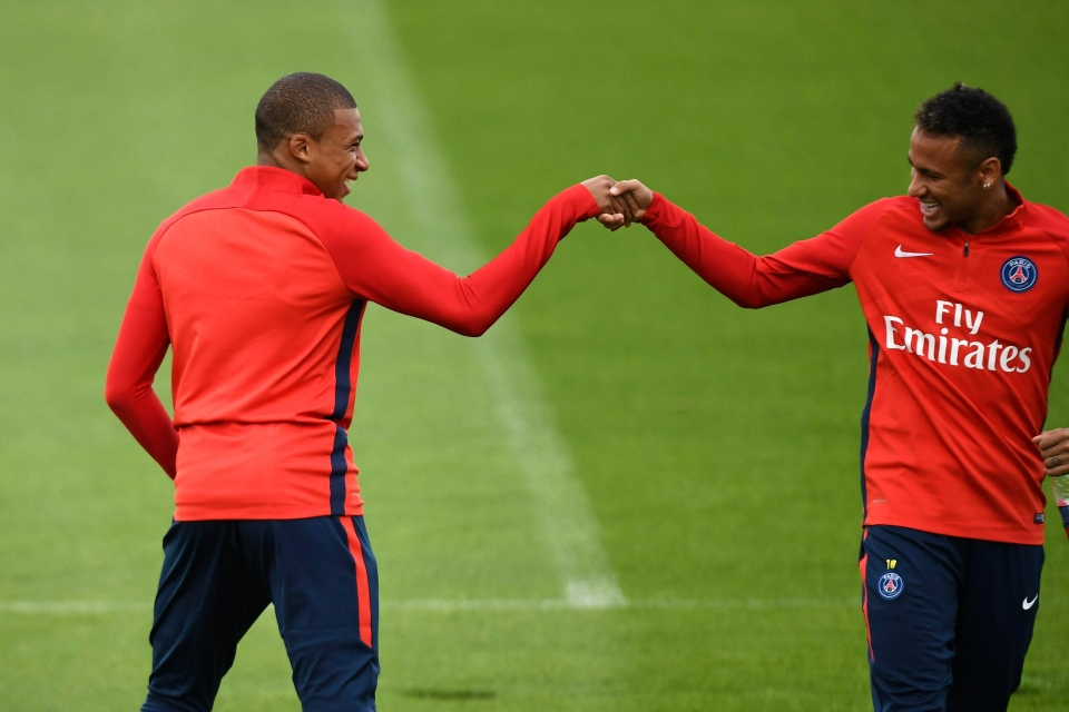 Mbappe and Neymar will take some stopping this season