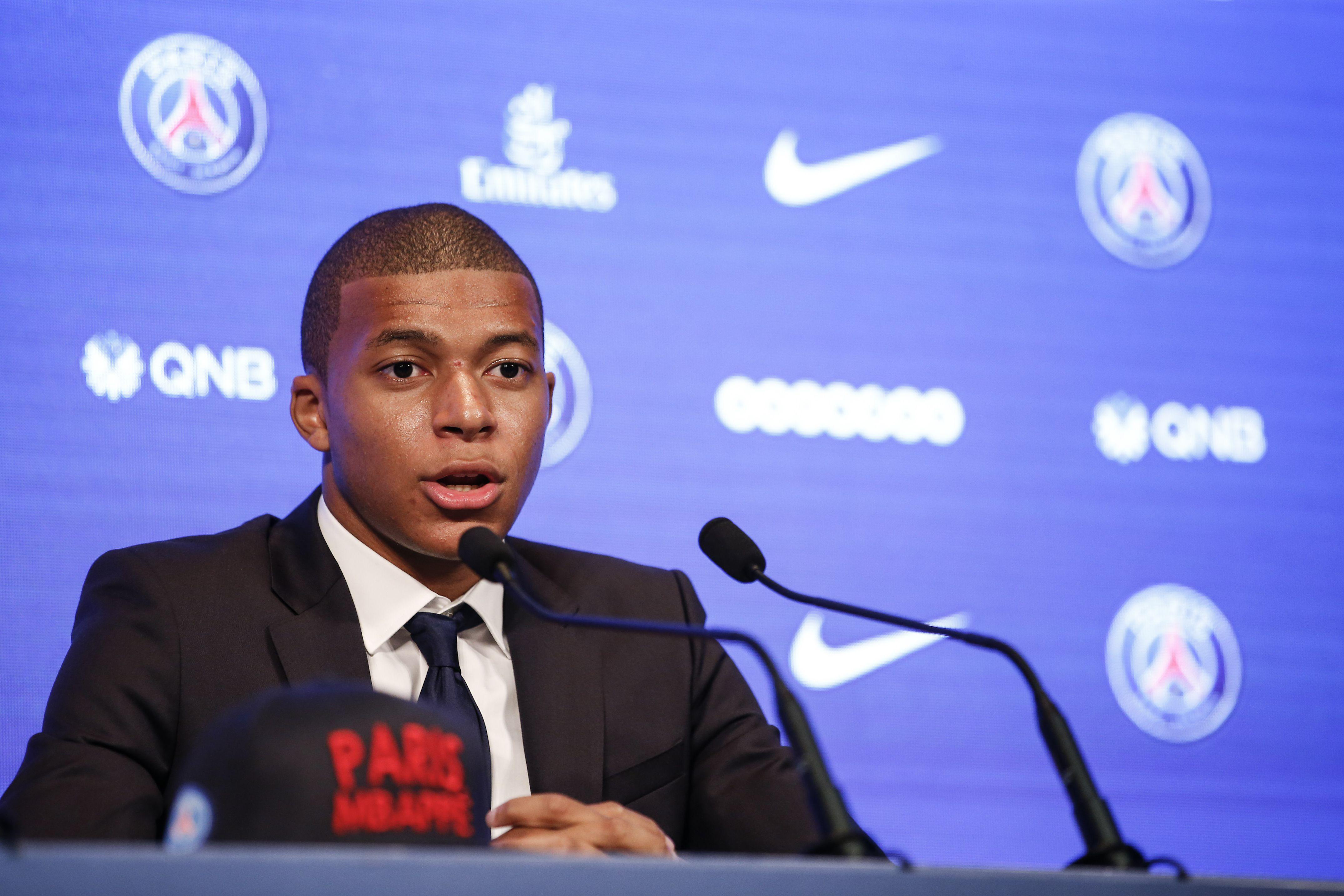 Kylian Mbappe is confident he can make a big impact a the club
