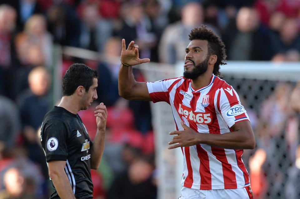 Eric Choupo-Moting opened the scoring for Stoke