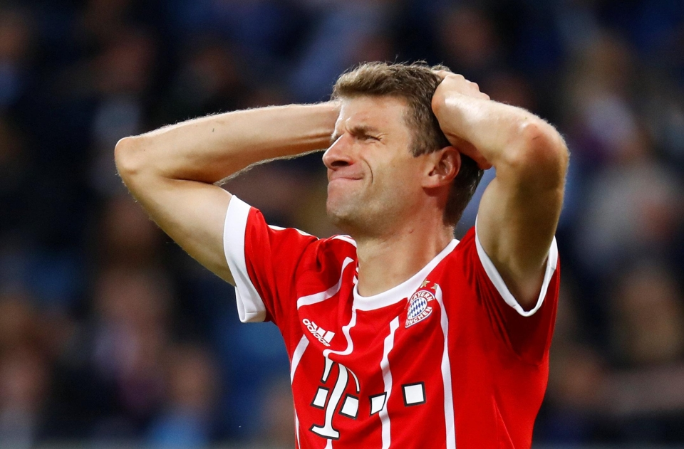 Can you imagine Muller plying his trade in the Premier League?