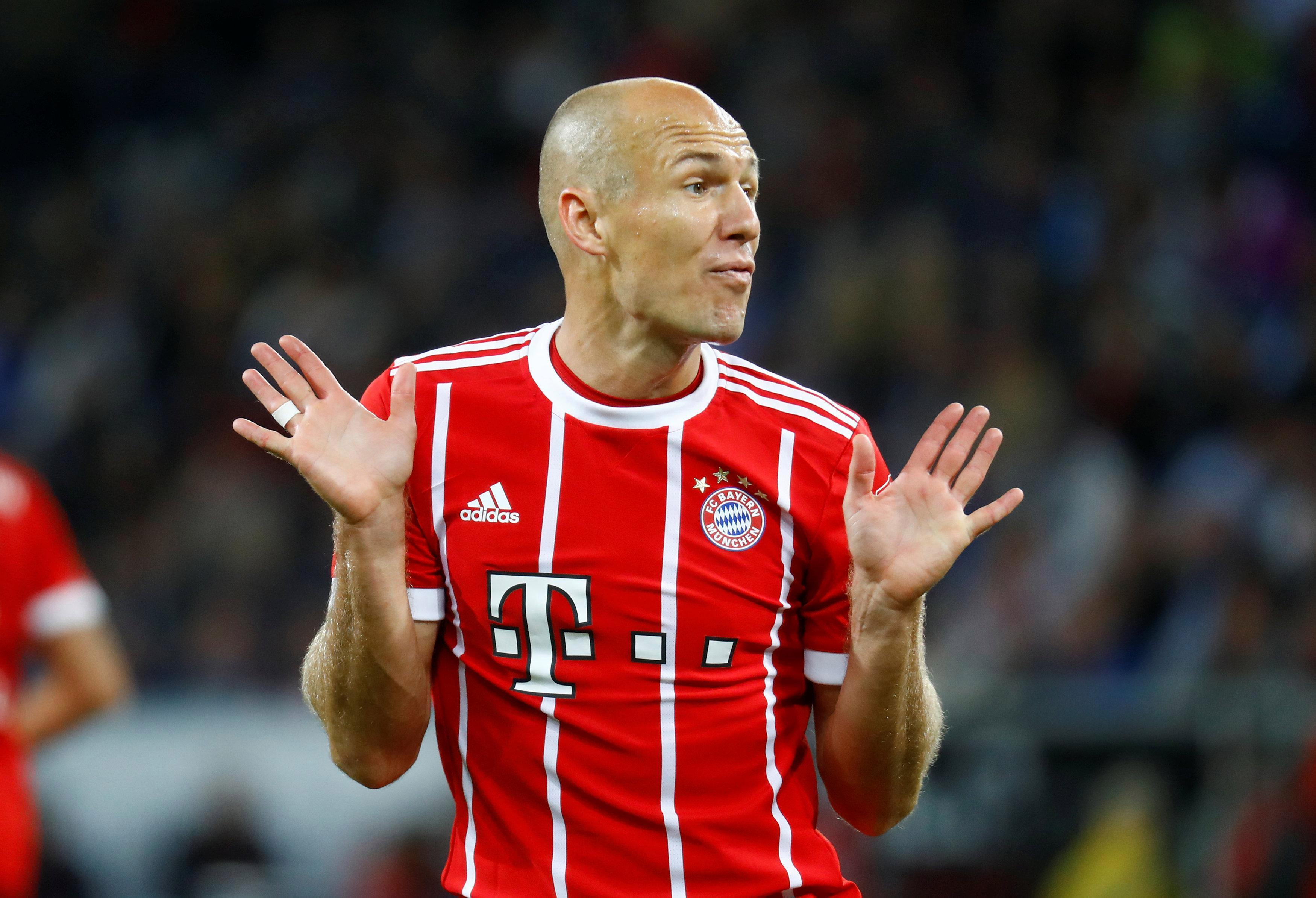 Robben is now 33