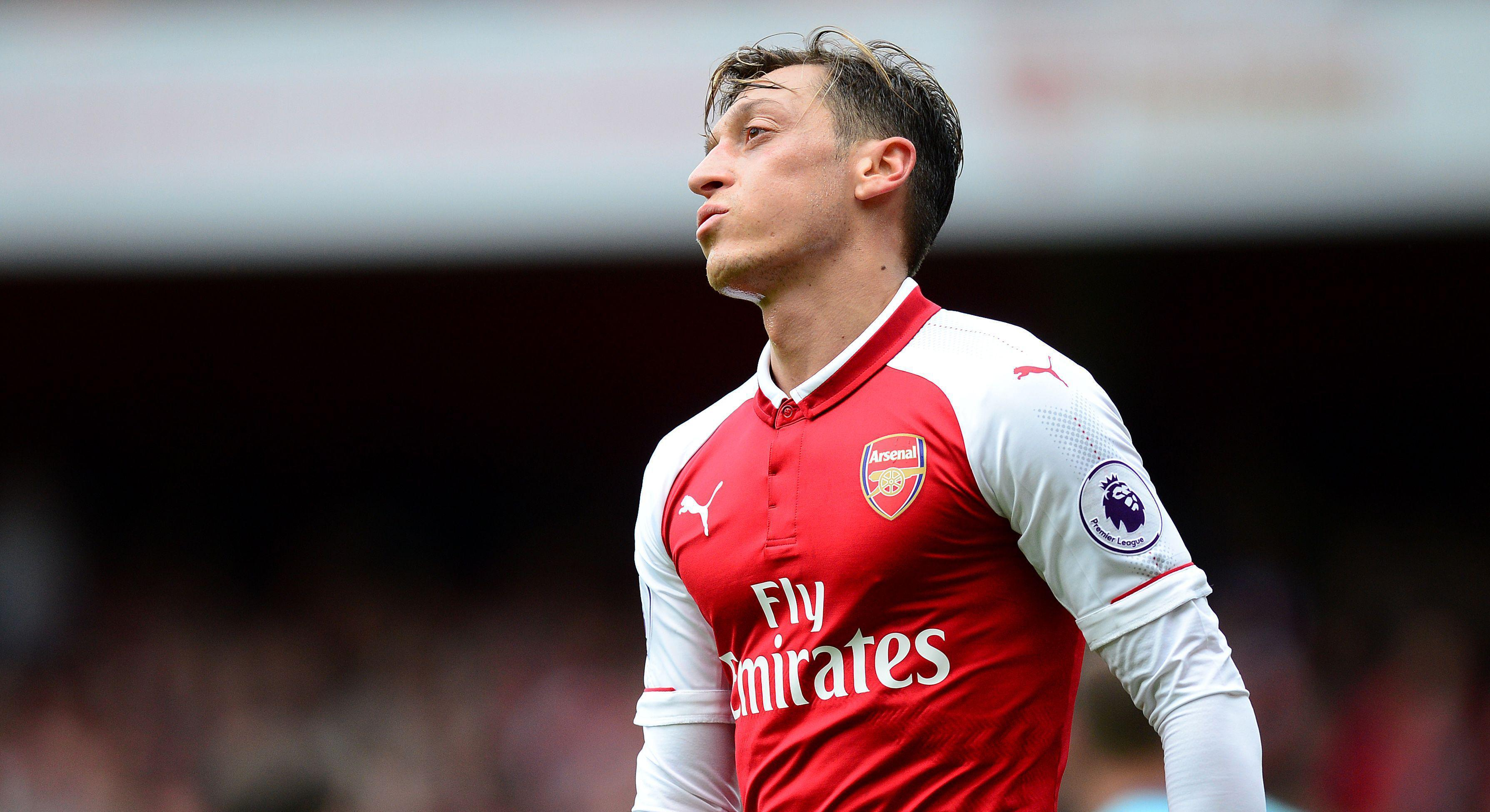 Mesut Ozil is out of contract at the end of the sason at Arsenal