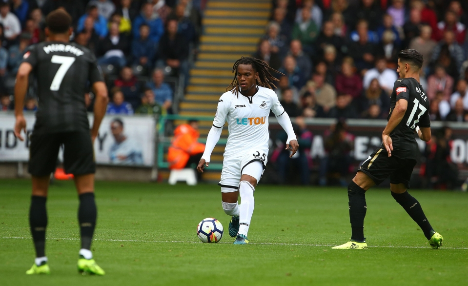 Sanches makes his bow for Swansea