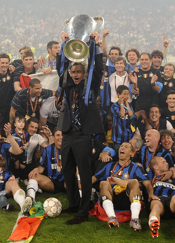 Mourinho won it all at Inter