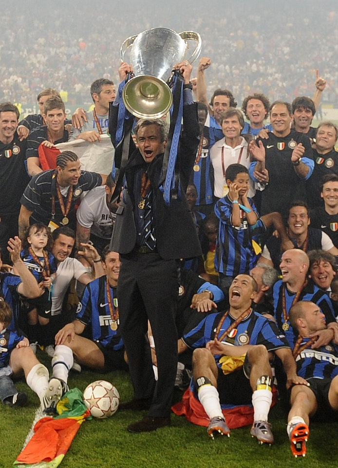 Mourinho won it all at Inter